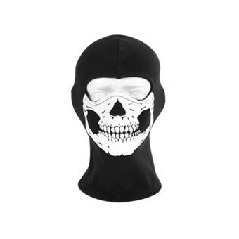Orang Orang Topeng Tengkorak Taktis Militer Pasukan Ghost Masker Halloween Airsoft Paintball Topeng .