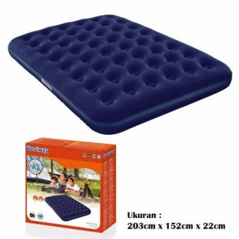 Harga Bestway 67003 Kasur Angin Queen Biru [203cm x 152cm] / Air Bed Queen Blue