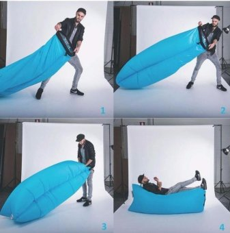 Harga Great Outdoor NSM AIR Bed - Blue
