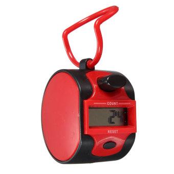 ... Autoleader Digital LCD Finger Tally Counter Golf Prayer Running Count Recorder 0 99999 New