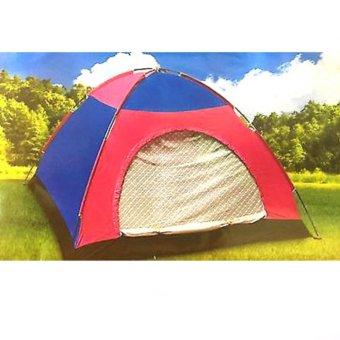 Tenda Camping Tenda Dome Tenda Kemping 6 orang - HY-024