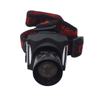 Harga Flashlight Head Lamp Lampu Senter Kepala ZB5901 - Hitam
