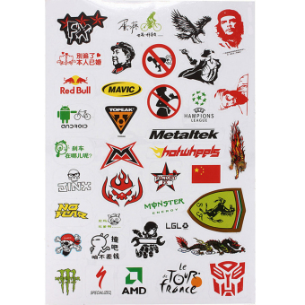 Harga OEM Bicycle Scooter Scrapbook Sticker BMX Stickers