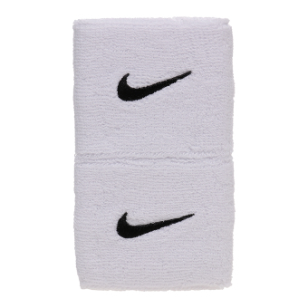 Harga Nike Swoosh Wristbands - White/Black