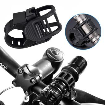 Harga PAlight Adjustable 360 Degree Rotatable Cycling Grip Mount Bike Clamp Clip Bicycle Flashlight LED Torch Light Lamp Holder - intl