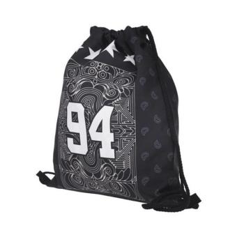 Fashion Unisex Backpacks 3D Printing Bags Drawstring Backpack - intl