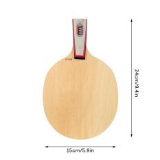 Indoor Outdoor Sports Table Tennis Racket Ping Pong Paddle Bat Racket Table Tennis Blade Shakehand / Penhold - intl