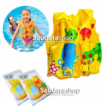 Intex 59661 Fun Fish Inflatable Swim Vest / Rompi Pelampung Renang Anak