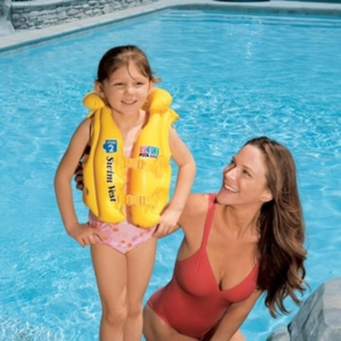 ... INTEX Baju Jaket Ban Pelampung Renang Anak Swim Vest 3 6 th
