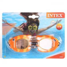 INTEX - Kaca Mata Renang Anak Karakter 3-8T Fun Goggles - INTEX 55603