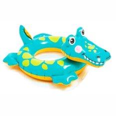 Intex Pelampung Renang / Ban Renang Anak Karakter Hewan Lucu - Crocodile