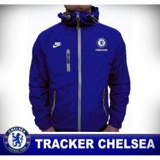 Jaket Tracker  Chelsea Biru