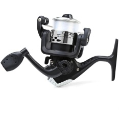 JL200 Electroplating Fishing Spinning Reel Folding Arm 3-Ball Bearing 5.2/1 with Transparent Fishing Wire - intl