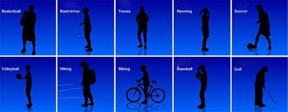 Jo.In Bersepeda Setengah Jari Ruang Olahraga Sarung Tangan LatihanPelatihan (Hitam)