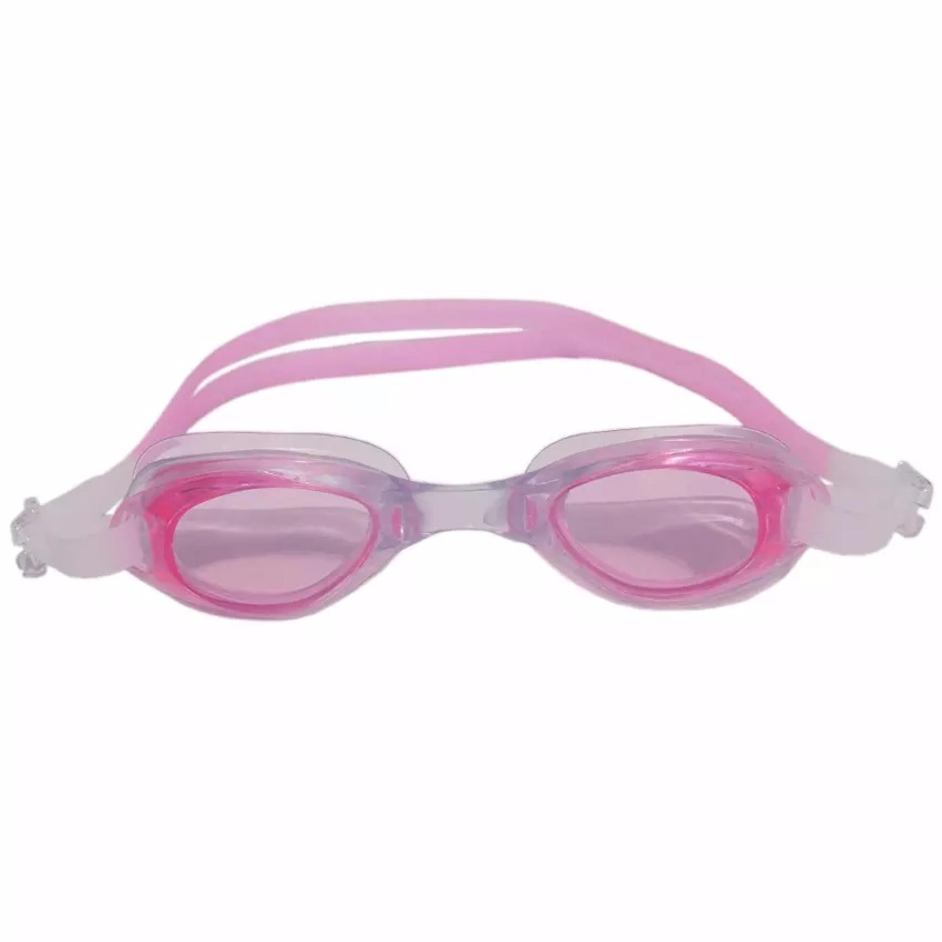 Kacamata Renang Antifog Water World - Pink .