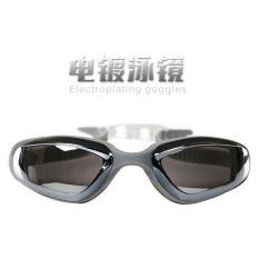 Kacamata Renang Electroplating Anak dan Dewasa - Gray