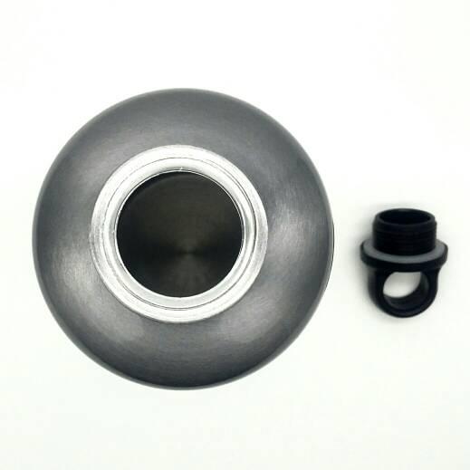 Kalibre Water Bottle Botol Minum Sepeda Stainless Steel 994043-010 Abu ...
