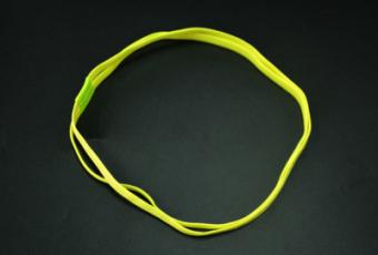 DISKON Kebugaran Yoga Silikon Non-slip Karet Rambut Headband MURAH