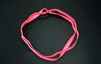 BELI Kebugaran Yoga Silikon Non-slip Karet Rambut Headband TERLARIS