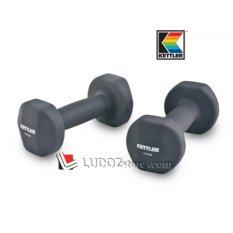 KETTLER Neoprene DUMBBELL 12kg/pair ( 2x 6kg ) Dumbell Senam Aerobic dan Fitness -0806