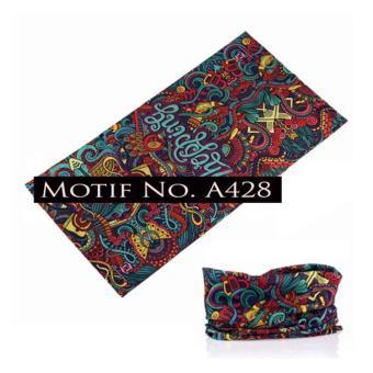 KMBuff Masker Serbaguna Motif Abstrak A428