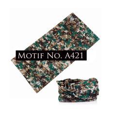 KMBuff Masker Serbaguna Motif Army/Loreng A421