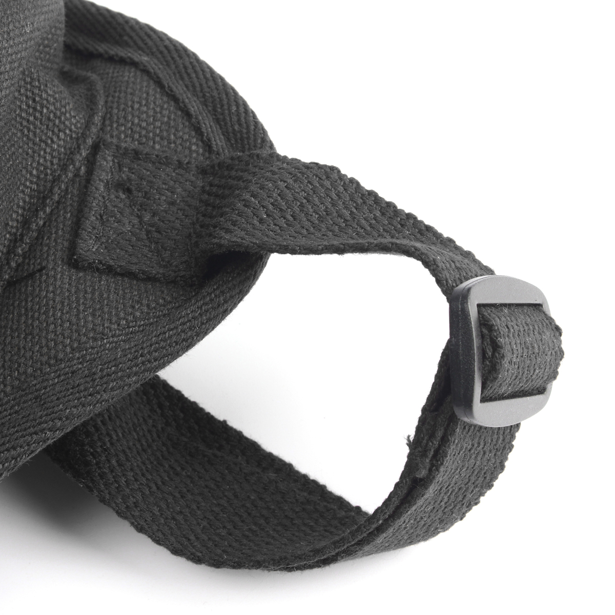 Kolam kanvas militer taktis paha kaki Drop tas kantong ikat pinggang hitam International .