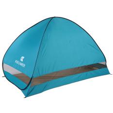 Kolam otomatis instan pop up tenda pantai portabel anti sinar UV perlindungan Camping memancing mendaki piknik