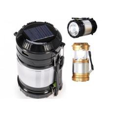 Lampu Emergency Solar Panel - ZM/GL-9599 Solar Zoom Camping Lamp