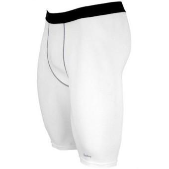 ... LANBAOSI menstruasi kompresi memakai peregangan sejuk + cepatkering celana pendek putih - 4 ...