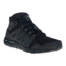 League Kumo 1.5  Kb Mid Sepatu Lari - Hitam-Cloudburst-Bright Mang