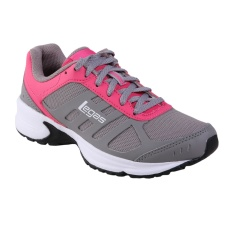 League Legas Series Atom LA W Sepatu Lari Wanita - Cloudburst/ Fandango Pink/ Whi