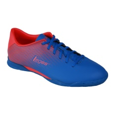 League Legas Series Attacanti LA Sepatu Futsal Pria - Snorkle Blue/Fiery Red