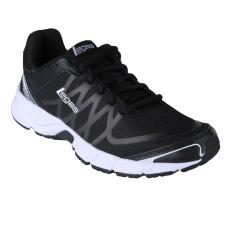 League Legas Series Evo LA Sepatu Lari - Black/ White