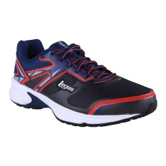 League Legas Series Warp LA M Sepatu Lari - Nine Iron-Blue Depths-Vapor Bl