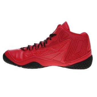 League Levitate Sepatu Basket - Chinesse Red-Black - 4