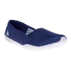 League New Rena Sepatu Sneakers - Navy Blue-Putih