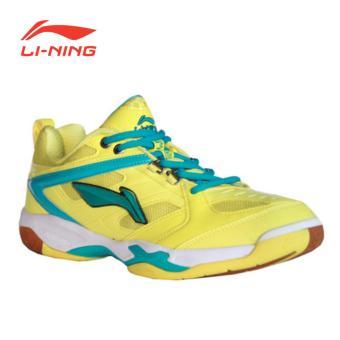 Li-Ning Badminton Shoes Champion - Kuning-Biru