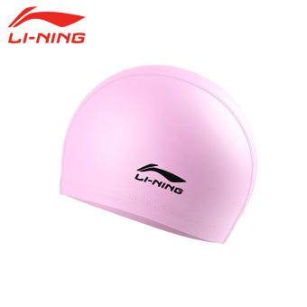 LINING dan nyaman untuk pria dan wanita dengan rambut panjang Waterproof profesional topi renang topi renang topi renang