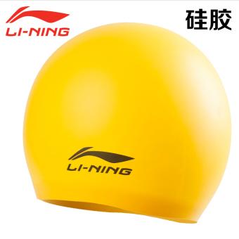 PENAWARAN LINING silikon untuk pria dan wanita dengan rambut panjang Waterproof topi renang topi renang topi renang topi renang TERMURAH