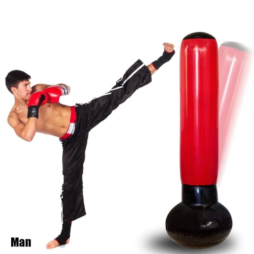 lls inflatable boxing tower with