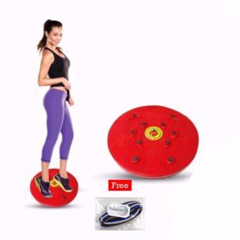 JUAL Lucky – Jogging Body Plate – Piringan Jogging Badan Magnetic Trimmer  1Pcs + Free Ikat Rambut Polkadope – 1 Pcs TERPOPULER