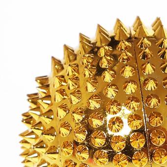LvLing - Bola Duri Magnet Besar Gold