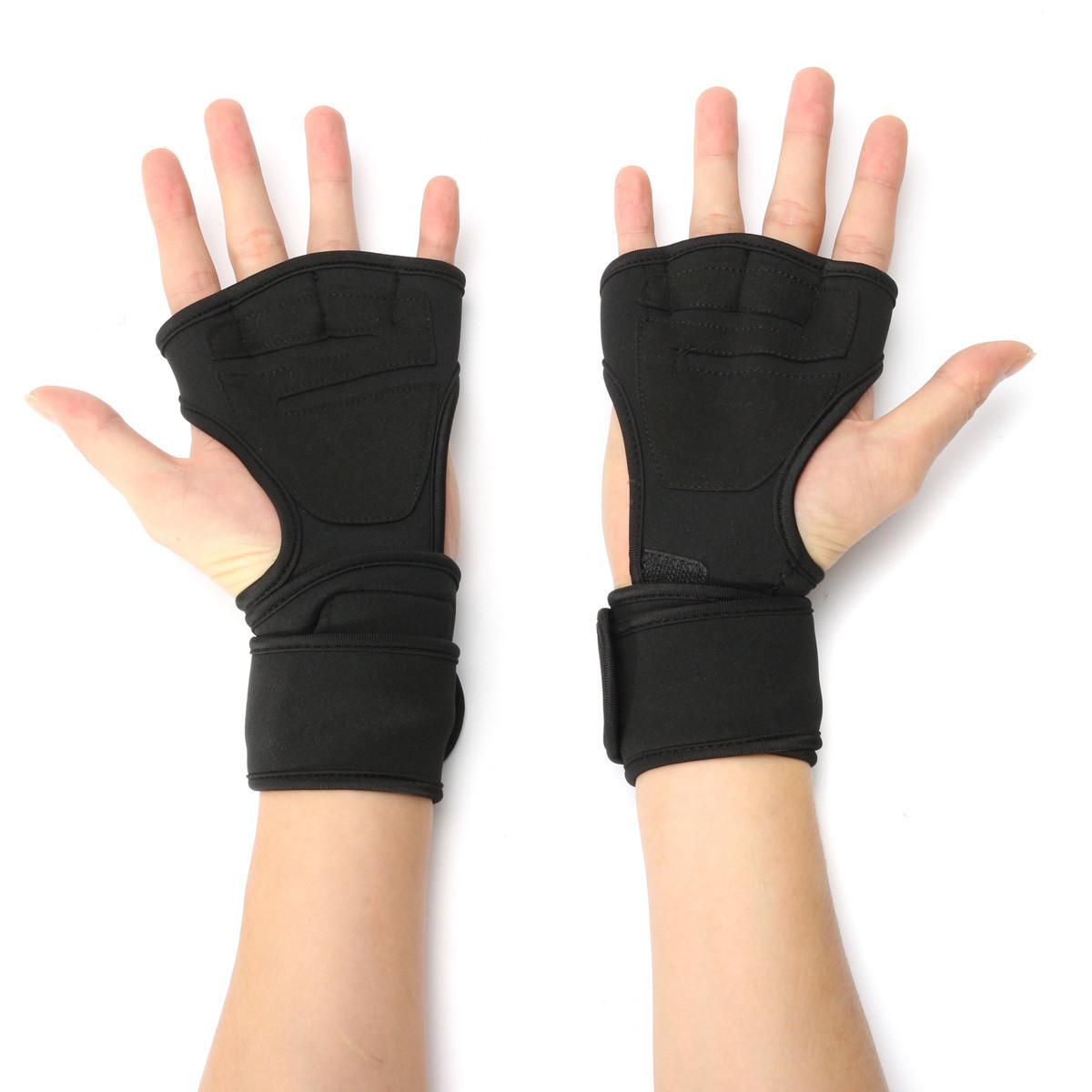 M angkat berat kebugaran olahraga sarung tangan latihan latihan olahraga pergelangan tangan bungkus .