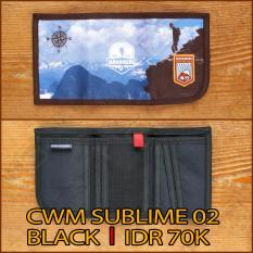 Mahameru - Wallet - CWM SUBLIME 02 - BLACK