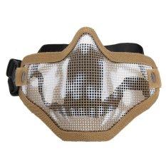 Cari Harga Outdoor Penuh Perlindungan Wajah Topeng Airsoft Paintball Source · Masker Airsoft Masker Pelindung Tengkorak