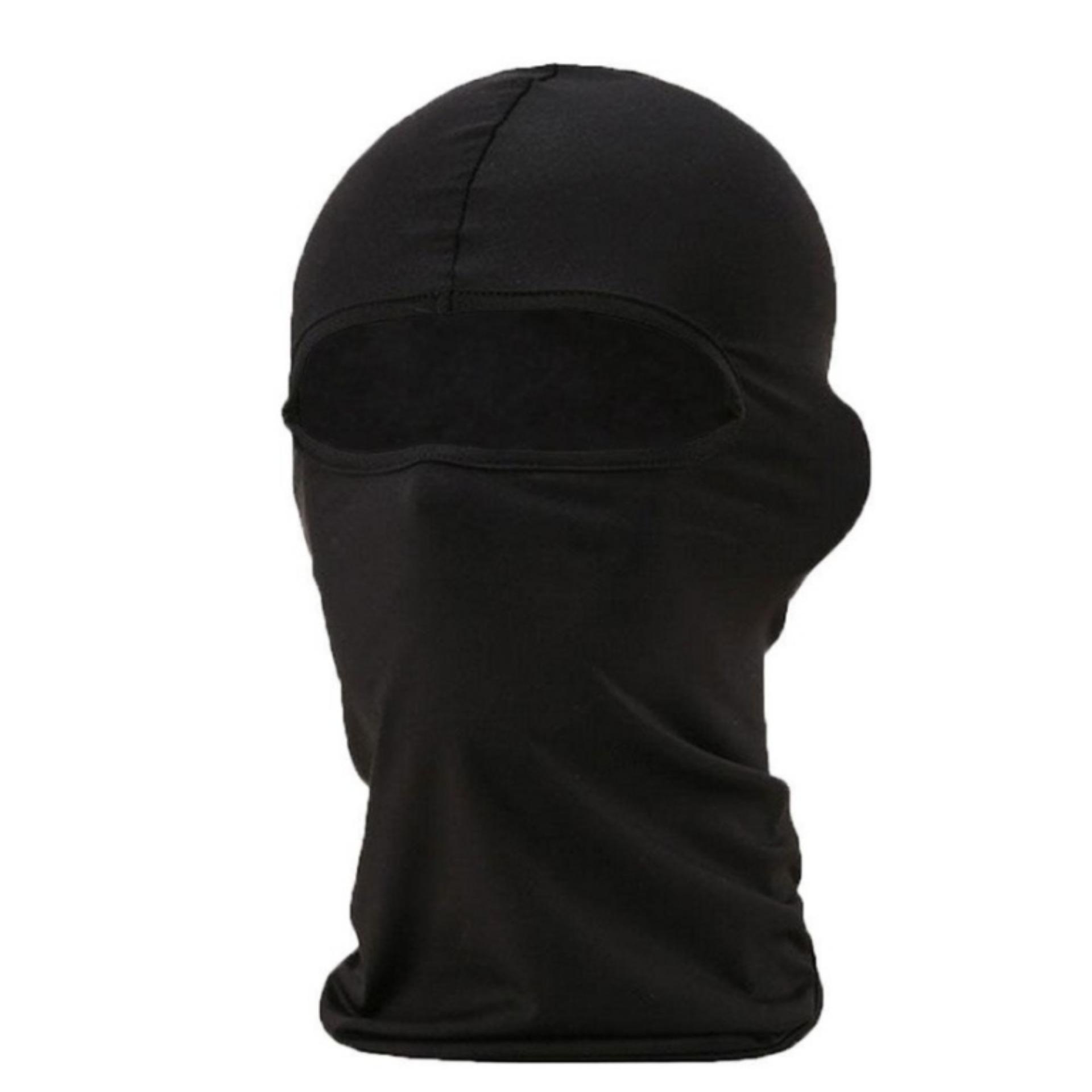 Masker Full Face Balaclava Multifungsi Polos .