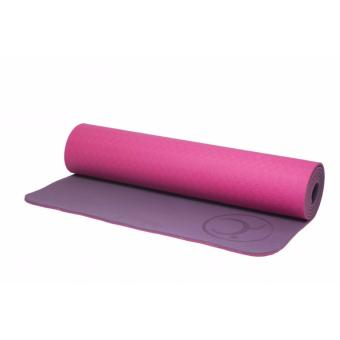 Matras Yoga Cuca Eco Yoga mat 6mm TPE Pink-Purple