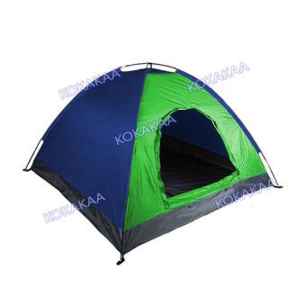 Maxxio Tenda Camping 4 Orang Ukuran 200cm x 200cm - Hijau-Biru