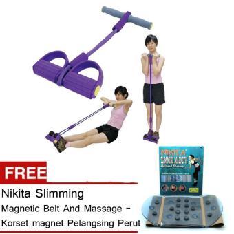 MJstore Tummy Trimmer / Body Trimmer / Alat Pengecil Perut + Gratis Nikita Slimming Magnetic Belt